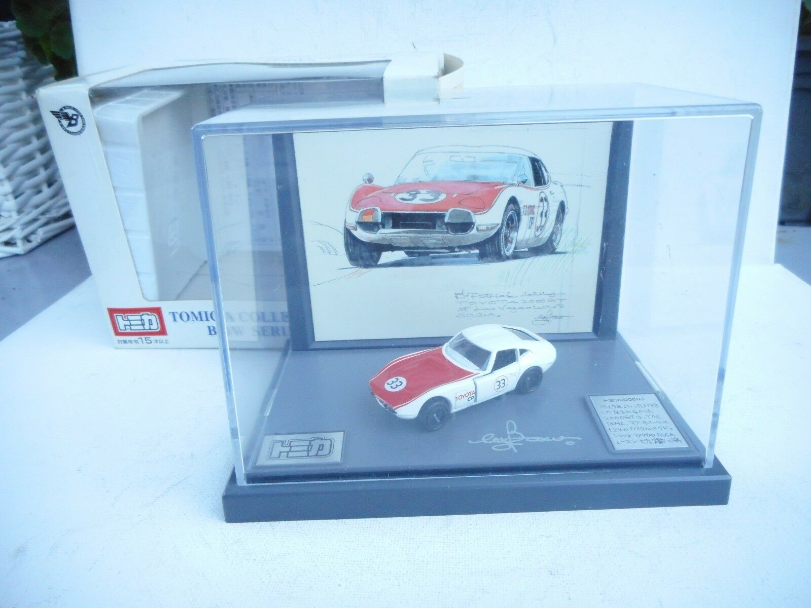 Tomica Collection Bow Series TOYOTA 2000 GT  car rare item From JAPAN F S MB