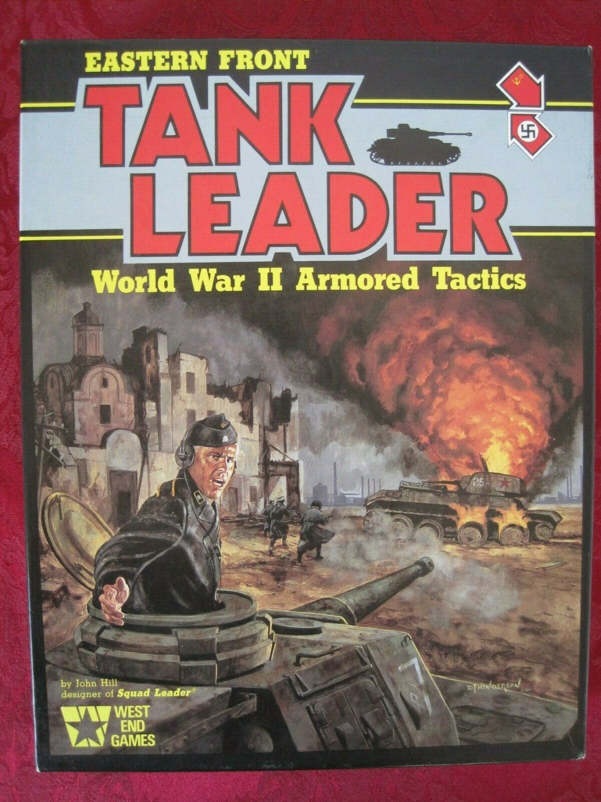 Tank Leader Eastern Front. WW II ArmGoldt Tactics. Unpunched Complete Excellent.