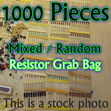 1000 Pcs - Resistors - Electrical Component Grab Bag Assortment DIY or Arduino