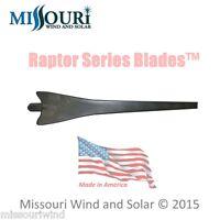 1 Raptor Series Blade™ Black Wind Turbine Generator Blade Made In Usa Propeller