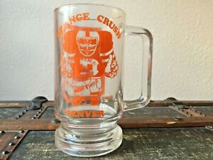 Vintage-1977-Denver-Broncos-ORANGE-CRUSH-AFC-CHAMPIONS-Glass-Beer-Mug