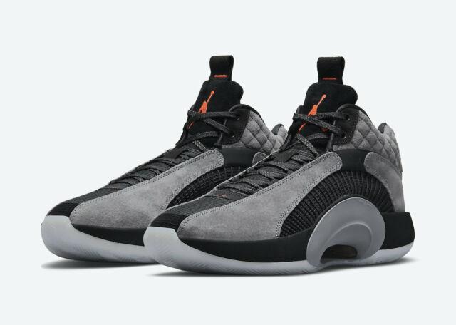 Nike Air Jordan 35 XXXV Fear - Smoke Grey - DJ6166-006 - Mens Sz 13 - CONFIRMED