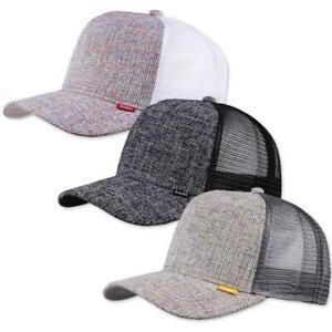 Djinns-HFT-Colored-Linen-Trucker-Cap-High-Fit-Mesh-Kappe-multi-color-Basecap-Hat