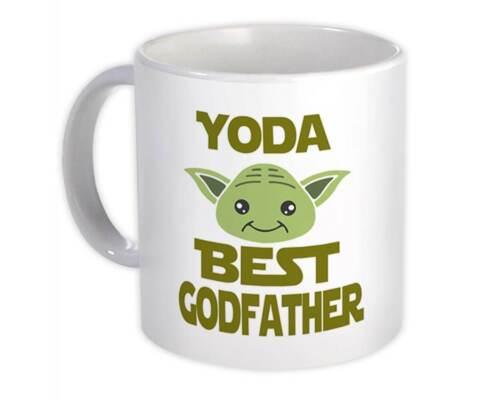 Gift Mug You Are Family Christmas Yoda Best Godfather Ever