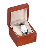 12pc Watch Gift Boxes Large Watch Wooden Box Watch Pillow Jewelry Gift Box Bulk