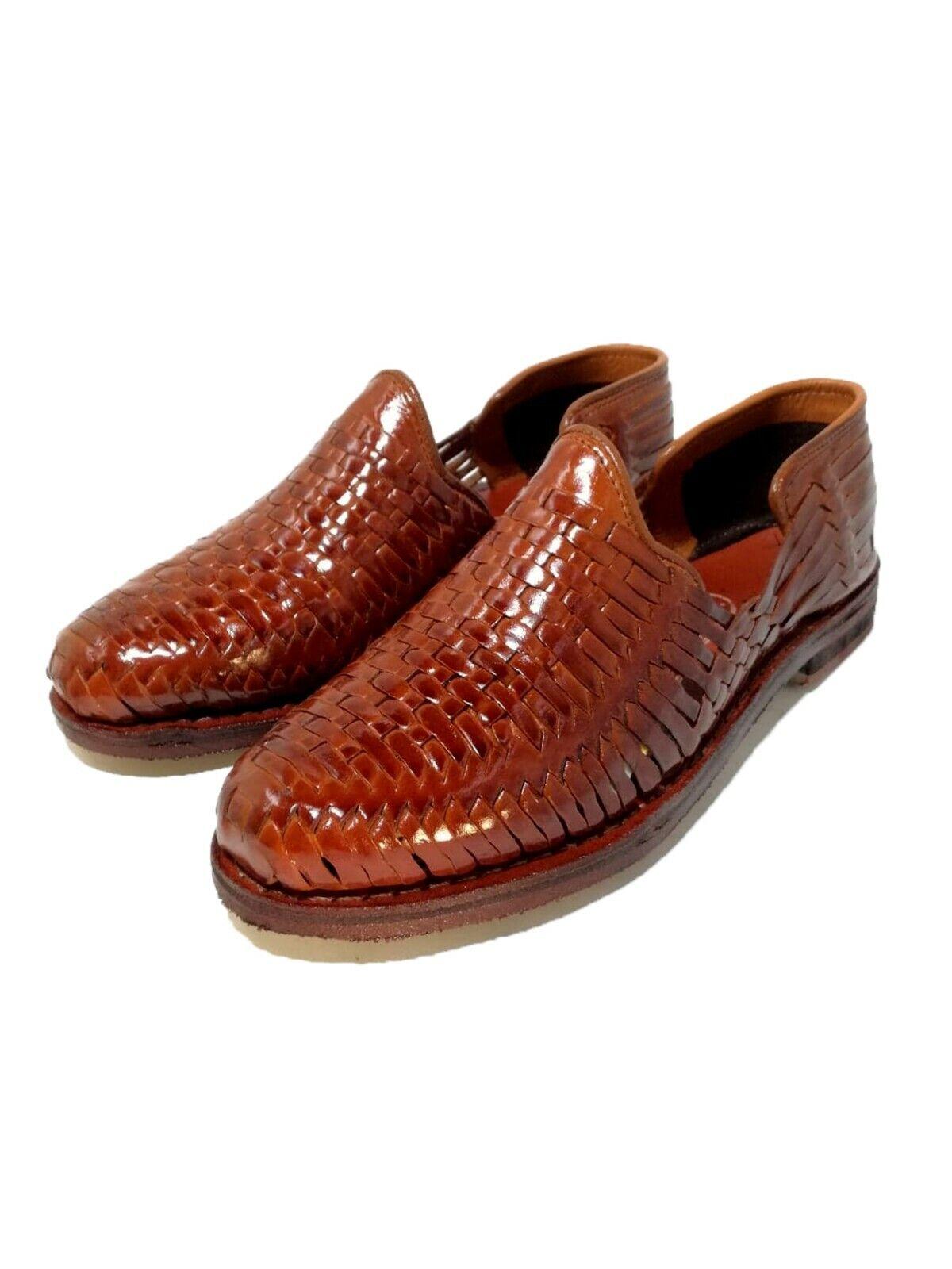 Mens Huaraches sandals mexican. 100% leather, vintage. Handmade. huarache