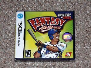 Major-League-Baseball-2K8-Fantasy-All-Stars-Nintendo-DS-Brand-New