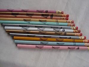 """1 Dz Harpe Musique Bois Crayons 7.5"""" Couleurs Grande Musique Cadeau Neuf-afficher Le Titre D'origine"""