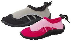 Garçons Filles Enfants Aqua Chaussettes été Plage Vacances Douche Chaussures Wetsuit Pool Taille-afficher Le Titre D'origine