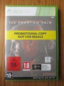 Metal-Gear-Solid-V-el-fantasma-Dolor-Promo-Xbox-360-Nuevo-Y-Sellado-juego-Completo