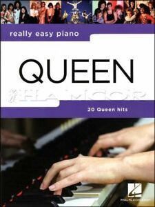 Really-Easy-Piano-Queen-Updated-Music-Book-Bohemian-Rhapsody-SAME-DAY-DISPATCH