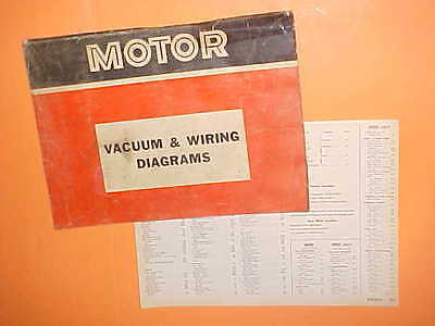 1967 1968 1969 1970 1971 dodge challenger charger coronet vacuum+wiring  diagrams