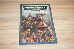 AgréAble Warhammer 40k Tyranides Codex Livre De L'armée Épuisé-afficher Le Titre D'origine