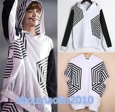 KPOP EXO EXO-M EXO_K OVERDOSE SEOUL LIVE SWEATER Hoodies T-shirts SEHUN Fans Top