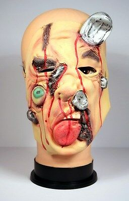 NEW Halloween Scary Ugly Face Mask Adult Costume Horror Party Latex Cosplay