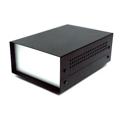 1pc All Aluminum Box Enclosure WD-330 20x13.8x7.3cm LxWxH Powder Coating Black