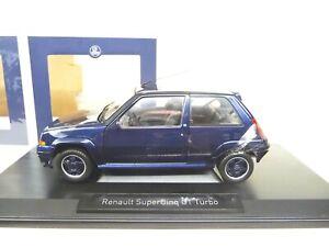 1:18 Norev RENAULT 5 GT Turbo Supercinq 1989 Alain Oreille blau  NEU NEW
