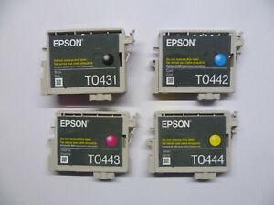 Epson-Multipack-T0432-T044-T043-Parasol-C84-C86-CX6400-CX6600-O-F