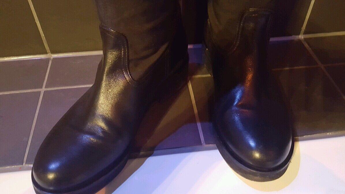 Overknee Stiefel Stiefel Overknee Echt Leder Twin Set ce4f54
