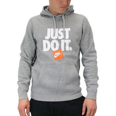 Nike Sportswear Fleece JDI Hoodie Kapuzenpullover Pulli Herren AR2578 063 Grau | eBay