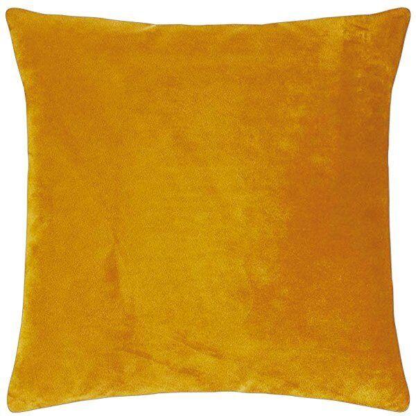 PAD Kissenhülle Samt Samt Samt Elegance Honig Gelb (50x50cm)   Gewinnen Sie hoch geschätzt  edef28