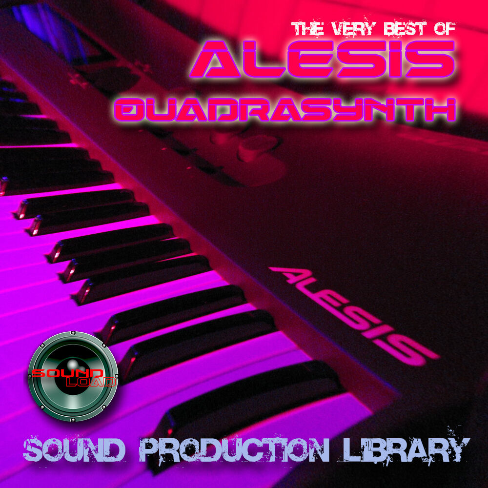 ALESIS QUADRASYNTH - Large Original WAVE/KONTAKT Multi-
