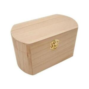 Bare Wood Box - 19cm Oval #8432
