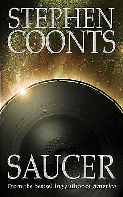 SAUCER by STEPHEN COONTS, Good Book (Paperback) Fast & FREE Delivery!