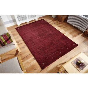 Image Is Loading Loriana Wine Rug 100 Wool 285 X 200cm