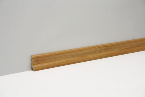 2400 x 40 x 20 mm Classen Clip-Fußleiste Pinie Landhaus