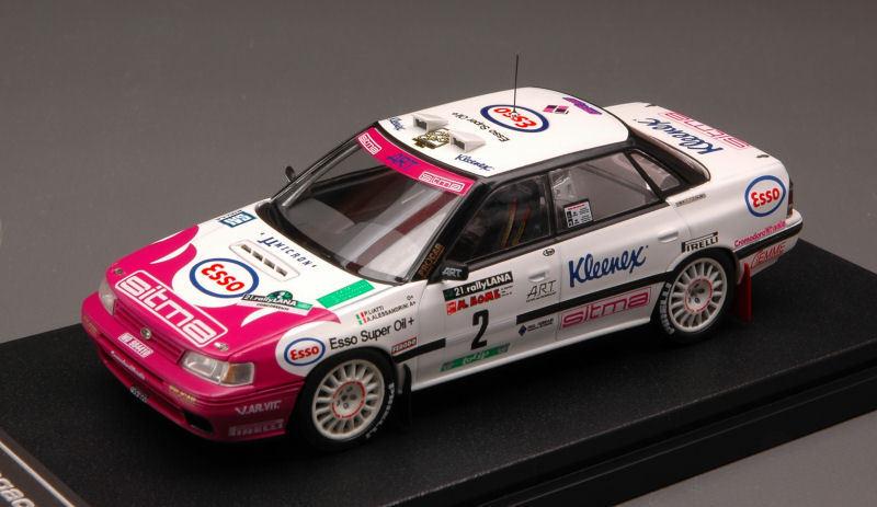 Subaru Legacy Rs  2 2 2 Lana Rally 1993 1 43 Model 8272 HPI RACING 8edb31