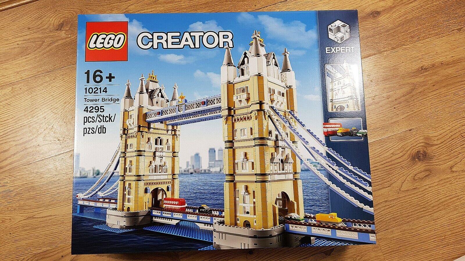 Skapare av LEGO 10214 Tower Bridge (2010)Nytt, fabriksförseglat & Stora villkor