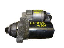 * SEAT LEON MK2 1P 1.6 2005-2011 Manual de 5 Velocidades Motor Arranque 02T911023M la EEB