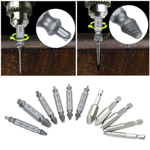 Beschädigte Schraube herausnehmen Abreißwerkzeuge Schraubendreher Defekter