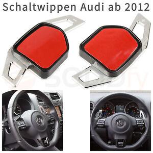 Schaltwippen-Alu-Silber-gebuerstet-DGS-Wheel-Paddle-Shift-Verlaengerung-Schaltung