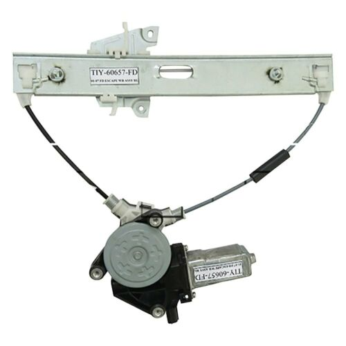 For Ford Escape 01-07 Rear Driver Side Power Window Regulator /& Motor Assembly