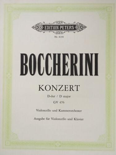 Boccherini Konzert D-Dur Violoncello und Kammerorchester