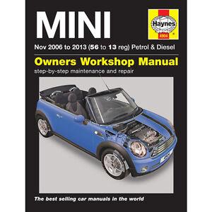 Haynes Workshop Repair Owners Manual Mini MK 2 Petrol & Diesel Nov 56 to 13 Reg