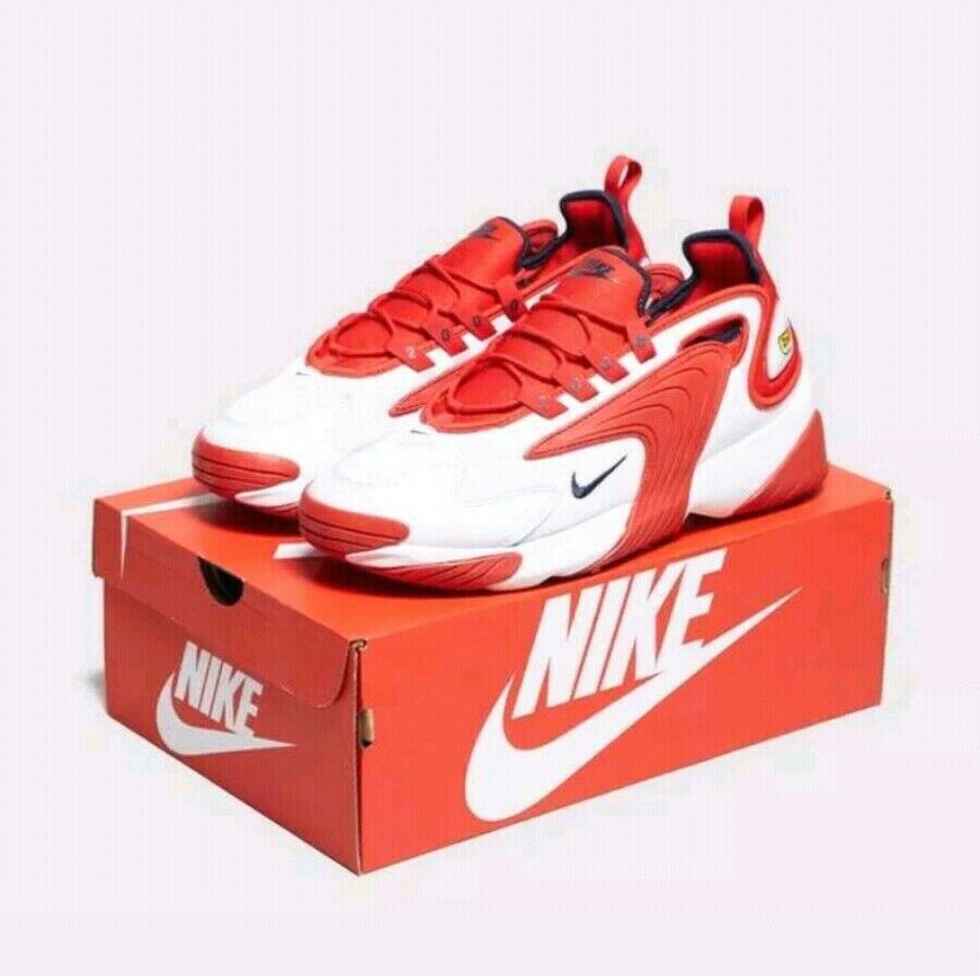 Nike Zoom 2K Off vit  Obsidian AO0269 102 Ungdomar Storlek UK 4 EU 36.5 US 4.5