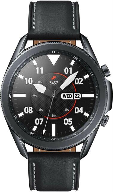 Samsung Galaxy Watch 3 (45mm, GPS, Bluetooth) Smart Watch - Mystic Black
