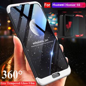 360-Full-Cover-Hard-Case-for-Huawei-Honor-10-8-9-Lite-Shell-Tempred-Glass-Film