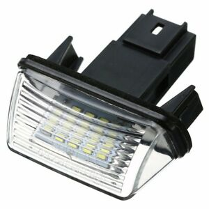 New-18LED-License-Plate-Light-for-Peugeot-206-207-307-308-Citroen-C3-C4-C5-C6