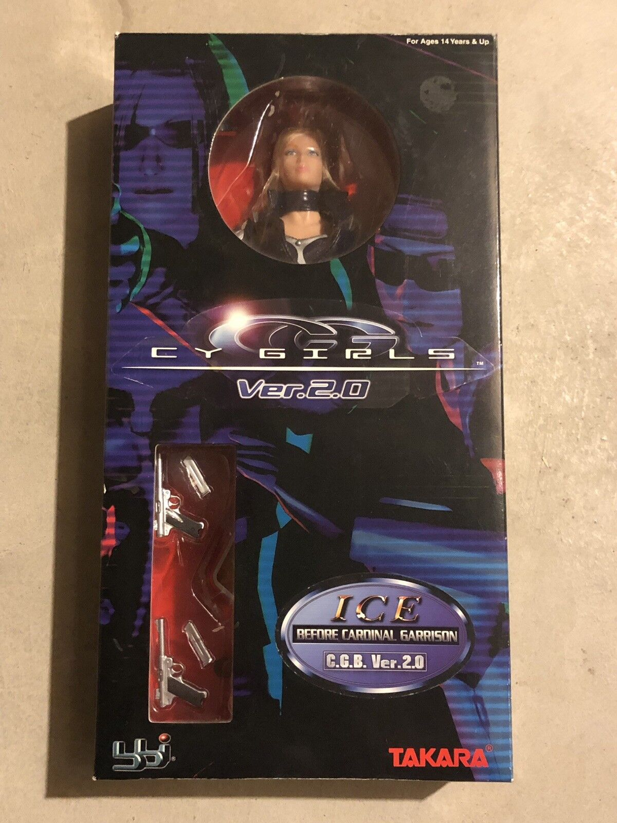 2003 BBI Takara CY Cool Girls Girls Girls Ver.2.0 ICE 12  Figure New 9013e2