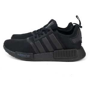 Adidas-NMD-R1-Triple-Black-S31508-2016-Men-039-s-Size-10-US-EUC