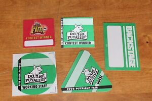 Puyallup-Fair-5-x-Unused-Backstage-Pass-FREE-SHIPPING