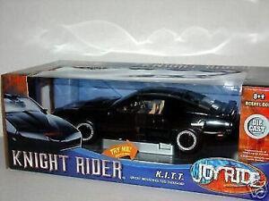 1-18-ertl-Joy-Ride-Knight-Rider-1982-pontiac-trans-am-Kitt-con-luz-de-ejecucion-rareza