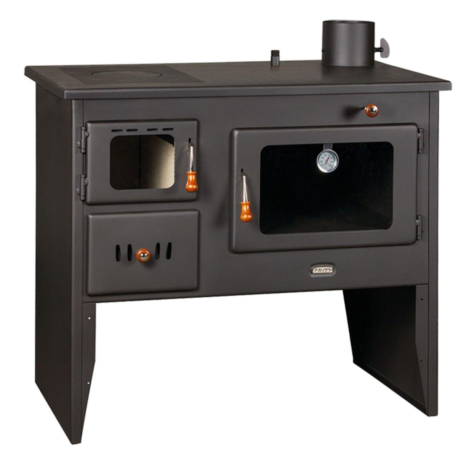 bimsch 16 kw kochen holz verbrennung herd mit warmwasserboiler prity w12 2p41 ebay. Black Bedroom Furniture Sets. Home Design Ideas