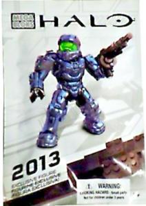 2013 Exclusive Mega Bloks Halo Spartan Figure 99693