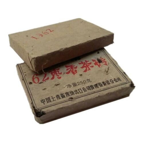 1962 Year 250g Chinese Yunnan Puer Brick Ancient Tree Puerh GiftsNew