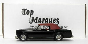 Top-Marques-1-43-Scale-HE8-1966-67-Alvis-TF-Convertible-Black